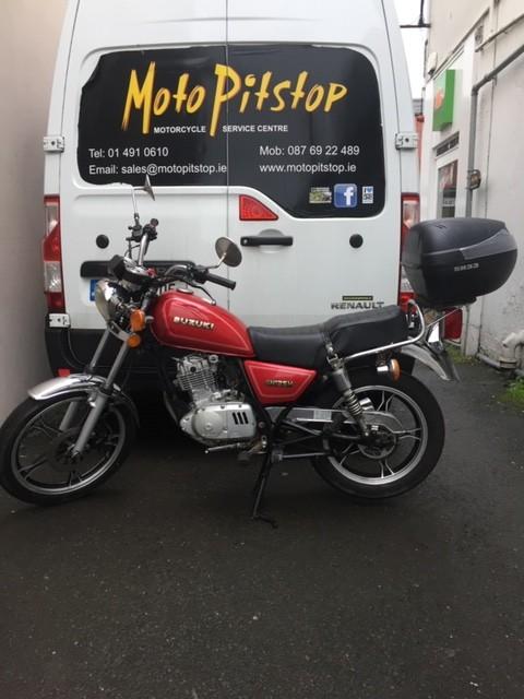 2010 Suzuki Gn125 Moto Pitstop